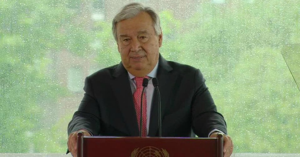 Warning of 'Existential Threat' to Humanity, UN Chief Says Climate Change 'Moving Faster Than We Are'