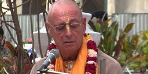 A message from Sivarama Swami