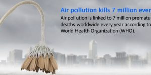 Air pollution kills 7 million people every year